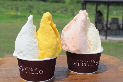 ジェラテリア ミルティーロ サンピアザ店