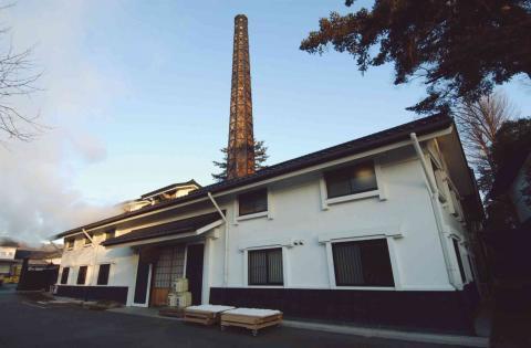 福生市内には2つの酒造がある(田村酒造場)