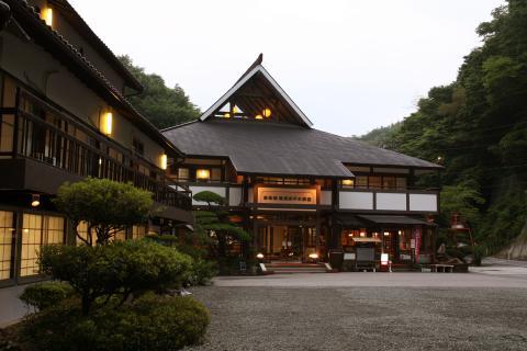 写真:国定公園帝釈峡 帝釈峡観光ホテル 養浩荘