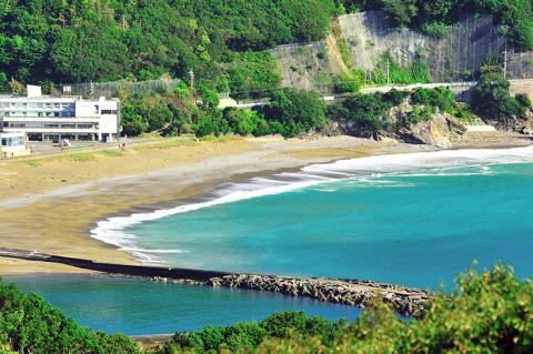 写真:大浜海岸