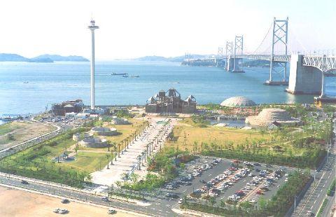 写真:瀬戸大橋タワー