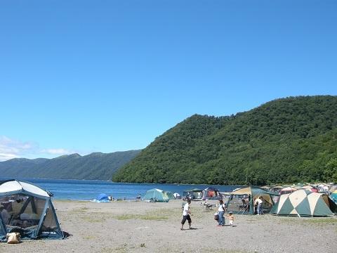 支笏 湖 キャンプ 場