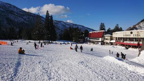 黒部市宇奈月温泉スキー場